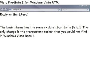 Vista Pre-Beta 2 for Vista by TheVistas2004