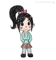 Vanellope by ImNotFuckingKidding