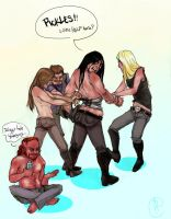 metalocalypse: pulling strings by tentaclees