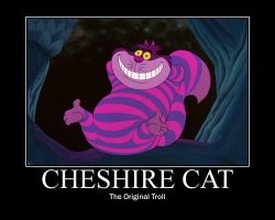 Cheshire Cat (De)motivational by MusicalFlareon