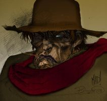 Cold blue Gunslingers Eyes by TheDarkMan