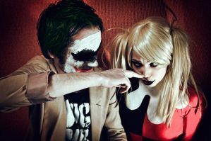 Harley and Joker by NatalieCartman