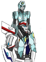 Abistar and Smokescreen by Primeval-Wings