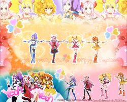 Fresh PRECURE - Happy Together by AsunaHatsune
