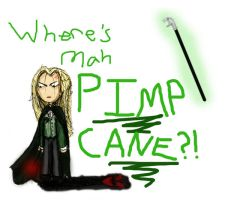 Lucius's Pimp Cane by nerdybutterfly13
