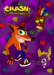 Crash and Spyro by SEBASTIEN11