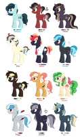 [CLOSED] - Ponies Batch 10 by Featheries