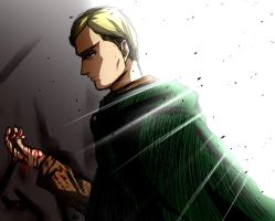 Bloodied Hands: Erwin Smith by Smudgeandfrank