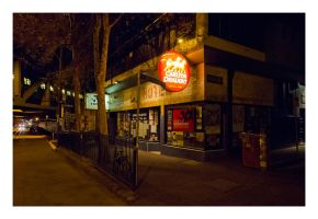 The Corner Hotel by Cameron-Jung