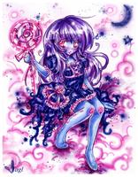 Blue Cutie Commission by tagl