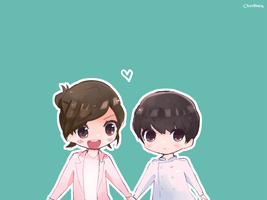 EXO - Baekyeol Happy Camp! by chuukara