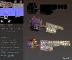 Satellite Debris Game Model by Demokk