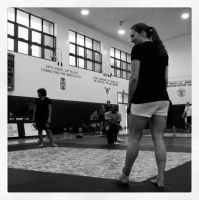 stepping onto the mat by september28
