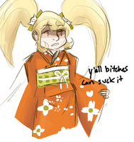 bitches aint shit and they aint sayin nothin by ibukimioda