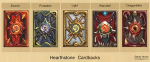 Hearthstone Cardbacks by 152mm
