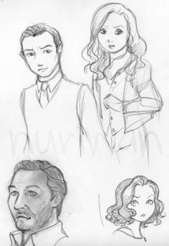 Inception doodles by nuriwan