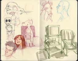 sketchbook page by Dana-T