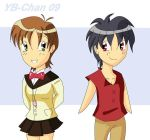 Chibi Couples H+V by Escaflowne-fanclub