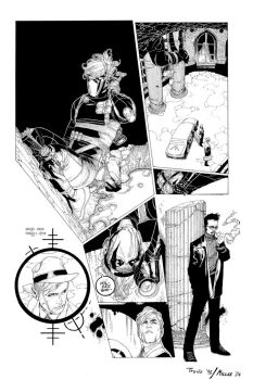 Travis Charest Wildcats Inks by rianmiller