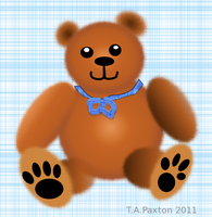 Inkscape Teddy Bear by WildHorseFantasy