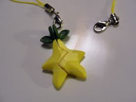 Kingdom Hearts Star fruit BFF Keychains by silverbeam