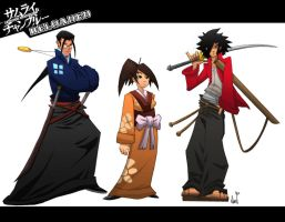Samurai Champloo Reloaded by Paranoidvin