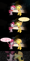 Five Nights at Pinkie's or AJ's? Um...  who cares? by SecretAgentJonathon