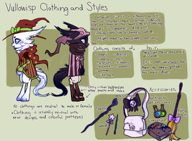 Vullowisp Clothing and Styles by MoggieDelight