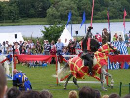 Jousting - Knight 55 by Axy-stock