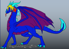 Another Dragon Form by godzilla99