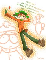 Kyle from South Park by carineyy