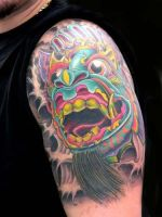 Bali Mask Cover Up by brandonbond