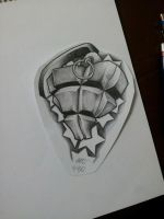 Heart Grenade Design by MagnaSicParvis
