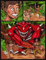 Dino Girls- In the Nexus - Page 1 by Ctrl-Alt-Dlt-Drawing