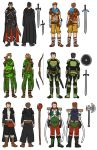 AH Fantasy - Initial Designs by Xinjay