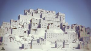 Up Hill Wip Render by AhmadTurk