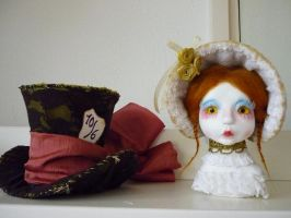 Ethel and Mad Hatter Hat 2 by SoDarkSoCute