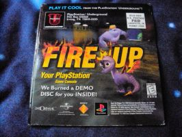 Spyro The Dragon Case and Demo Disk 4 by RedDevilDazzy2007