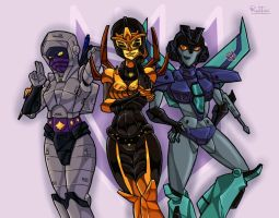TF decepti-chicks by rubtox