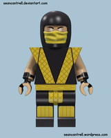 Lego Scorpion - Classic by seancantrell