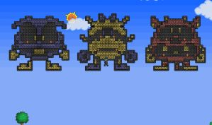 Terraria Dr. Mario Viruses by insanehuman19