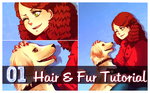 Video Tutorial: How to draw hair and fur in SAI by rydi1689