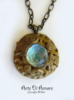 Undersea Necklace by ArteDiAmore
