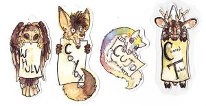 Chibi Badges: Examples by CannedTalent