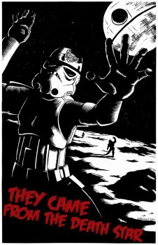 They Came From The Death Star by aaronprovost