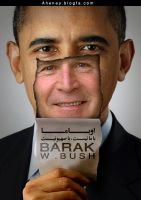 Barak W.Bush by Aheney