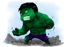 Hulk Smash by Archiri
