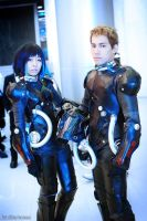 Pacific Rim Cosplay Mako and Raleigh by Jiakidarkness