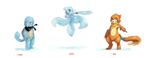 PMD Water Rouge Lineup by Zaiats