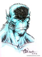 All-New X-Men Beast by ToddNauck